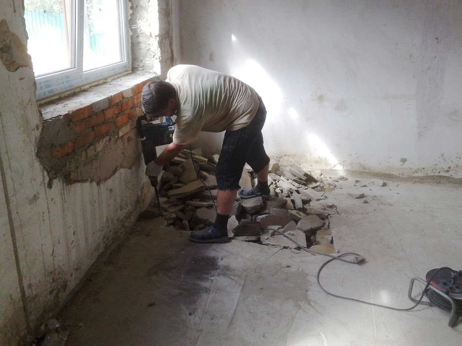 Как сделать ремонт в старом доме своими руками