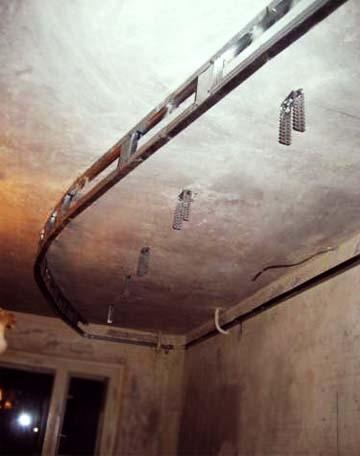 Двухъярусный потолок из гипсокартона своими руками