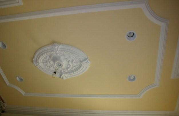 Покраска потолков из гипсокартона фото